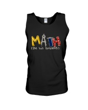 Math She Has Problem Unisex Tank thumbnail