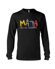 Math She Has Problem Long Sleeve Tee thumbnail