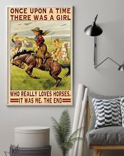 A Girl Loves Horses 11x17 Poster lifestyle-poster-1