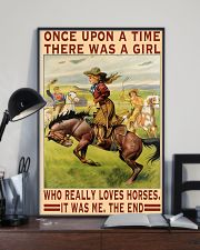 A Girl Loves Horses 11x17 Poster lifestyle-poster-2