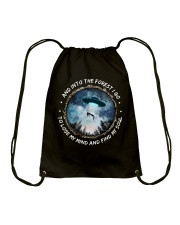 Into The Forest Drawstring Bag thumbnail