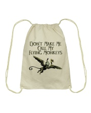 Do Not Make Me Drawstring Bag thumbnail