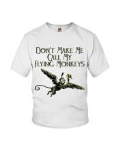 Do Not Make Me Youth T-Shirt thumbnail