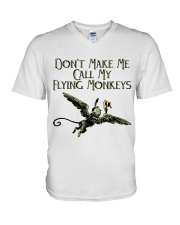 Do Not Make Me V-Neck T-Shirt thumbnail