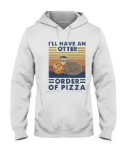 I Have An Otter Hooded Sweatshirt front