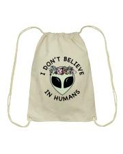 I Do Not Believe Drawstring Bag thumbnail