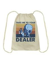 Take Me To Your Dealer Drawstring Bag thumbnail