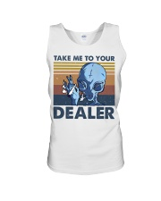 Take Me To Your Dealer Unisex Tank thumbnail