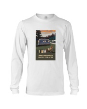 And She Lived Happily Long Sleeve Tee thumbnail