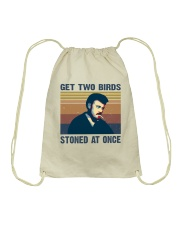 Get Two Birds Drawstring Bag tile