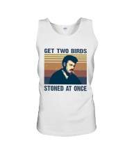 Get Two Birds Unisex Tank tile