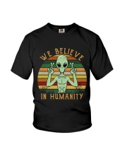 We Believe In Humanity Youth T-Shirt thumbnail