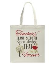 Teacher Plant Seeds Tote Bag thumbnail