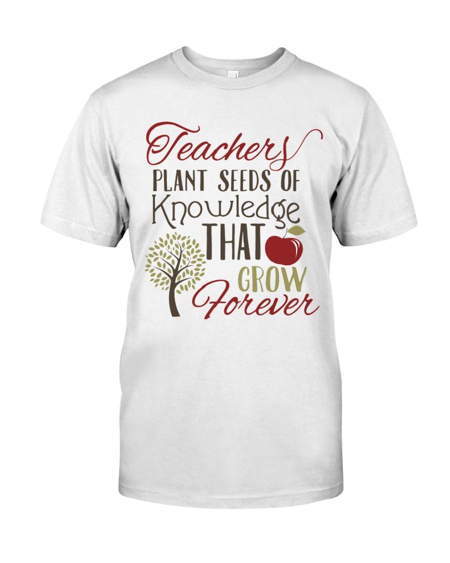 Teacher Plant Seeds Classic T-Shirt