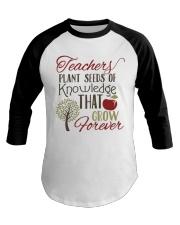Teacher Plant Seeds Baseball Tee thumbnail