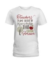 Teacher Plant Seeds Ladies T-Shirt thumbnail