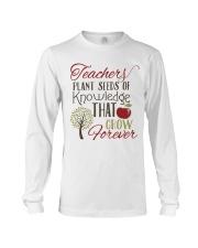 Teacher Plant Seeds Long Sleeve Tee thumbnail