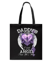 Daddy Girl I Used To Be His Angel Tote Bag thumbnail