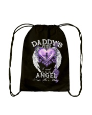 Daddy Girl I Used To Be His Angel Drawstring Bag thumbnail