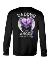 Daddy Girl I Used To Be His Angel Crewneck Sweatshirt thumbnail