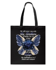 He Will Cover You With His Feathers Tote Bag thumbnail