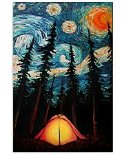 Camping Starry Night Art Poster 11x17 Poster front