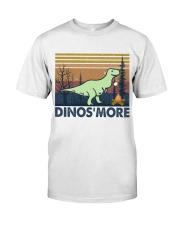 Dinosmore Funny Camping Shirt Classic T-Shirt thumbnail