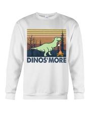 Dinosmore Funny Camping Shirt Crewneck Sweatshirt thumbnail