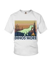 Dinosmore Funny Camping Shirt Youth T-Shirt thumbnail