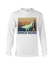 Dinosmore Funny Camping Shirt Long Sleeve Tee thumbnail