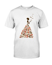 A Girl Loves Books Classic T-Shirt front