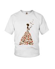 A Girl Loves Books Youth T-Shirt thumbnail