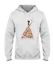 A Girl Loves Books Hooded Sweatshirt thumbnail