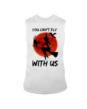 You Cant Fly With Us Sleeveless Tee thumbnail