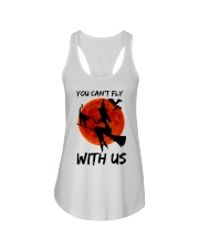 You Cant Fly With Us Ladies Flowy Tank thumbnail