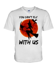 You Cant Fly With Us V-Neck T-Shirt thumbnail
