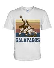 Galapagos V-Neck T-Shirt thumbnail