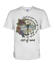 I Love You Your Whole Life V-Neck T-Shirt tile