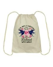Im Not A Widow Drawstring Bag thumbnail