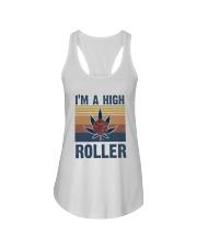 I Am A High Roller Ladies Flowy Tank thumbnail