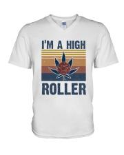 I Am A High Roller V-Neck T-Shirt thumbnail