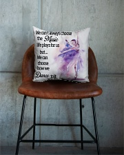 We Can Choose How We Dance To It Square Pillowcase aos-pillow-square-front-lifestyle-04