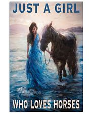 Just A Girl Who Loves Horse 11x17 Poster front