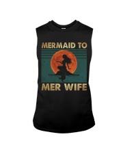 Mermaid To Mer Wife Sleeveless Tee thumbnail