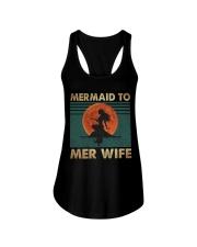 Mermaid To Mer Wife Ladies Flowy Tank thumbnail