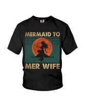 Mermaid To Mer Wife Youth T-Shirt thumbnail