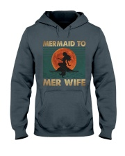 Mermaid To Mer Wife Hooded Sweatshirt thumbnail