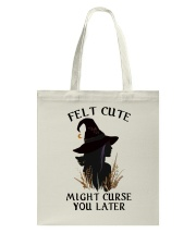 Witch Felt Cute Tote Bag thumbnail