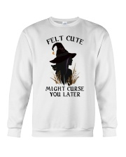 Witch Felt Cute Crewneck Sweatshirt thumbnail