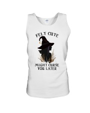 Witch Felt Cute Unisex Tank thumbnail